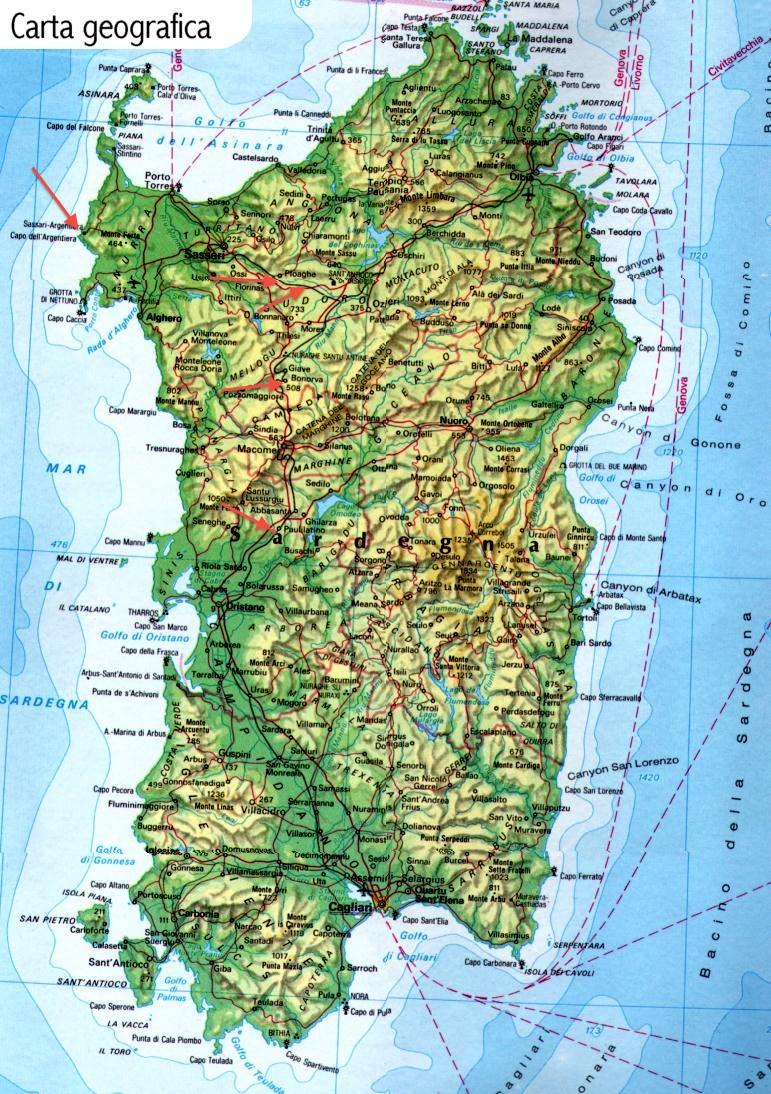 Cartina Spiagge Sardegna Nord.Cinque Cose Da Vedere In Sardegna In Primavera
