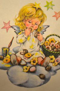 Angioletto dei biscotti Nasino d'oro